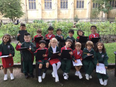 Year 1 Geography Trip in Chelsea