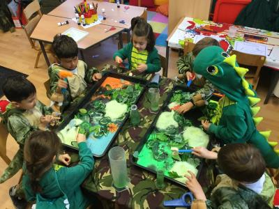 The Early Years Learning Experience – Dinosaur Day!