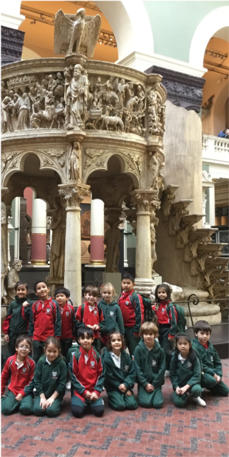 Visit to the V&A Museum
