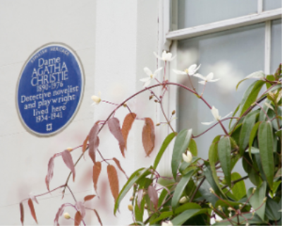 BLUE PLAQUE PROJECT: Blue is the colour