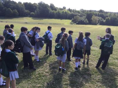 Year 7 Trip to Battle Abbey