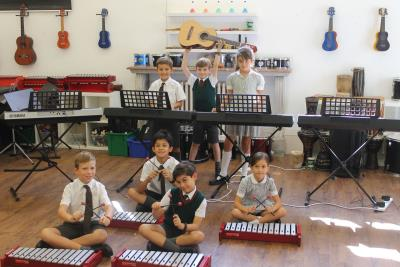 Music time in Year 4