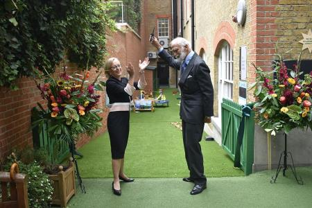 HRH Prince and Princess Michael of Kent Open New Early Years Facilities